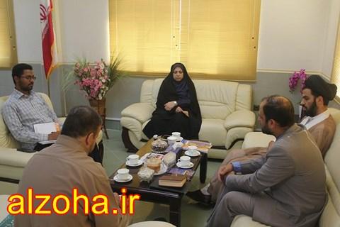 نشست قرآنی با فرماندار شهرستان قشم