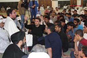 برگزاری محفل انس با قرآن کریم با حضور قاری بین المللی حامد شاکر نژاد در قشم