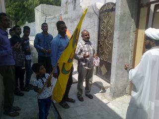 گزارش تصویری دید و بازدید عید غدیر خم ( دیدار با خانواده های شهدا و سادات )