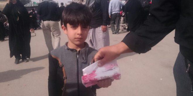 گزارش تصویری اربعین حسینی( ع) در شهر کوفه