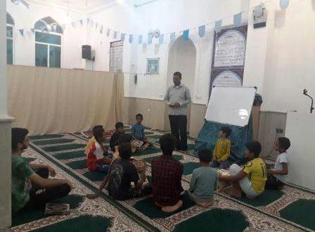 برگزاری کلاس آموزش اذان و مکبری در قشم