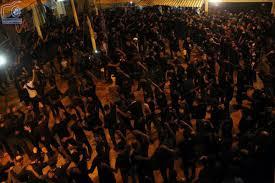فیلم مراسم عزاداری شهادت امام علی در مسجد صاحب الزمان(عج) جزیره قشم