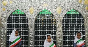 زیارت امامزاده سید مظفر(ع) با حضور جمعی از قرآن آموزان مهد مبین قشم