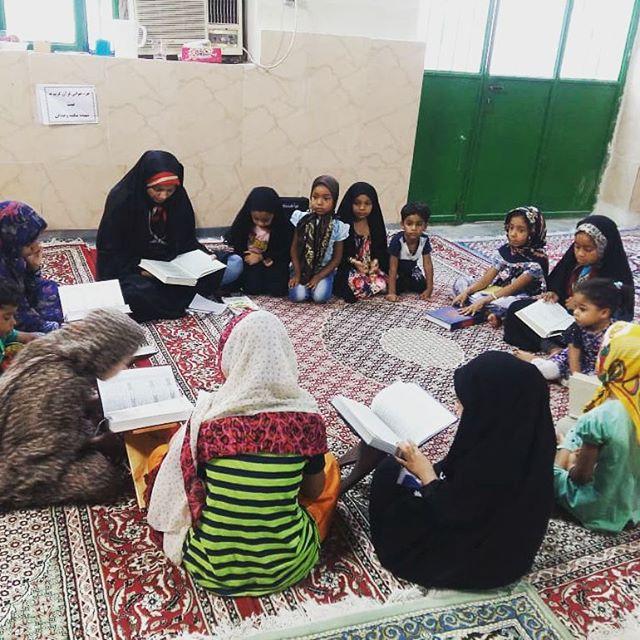 برگزاری کلاس آموزش روخوانی و روانخوانی قرآن کریم ویژه دختران