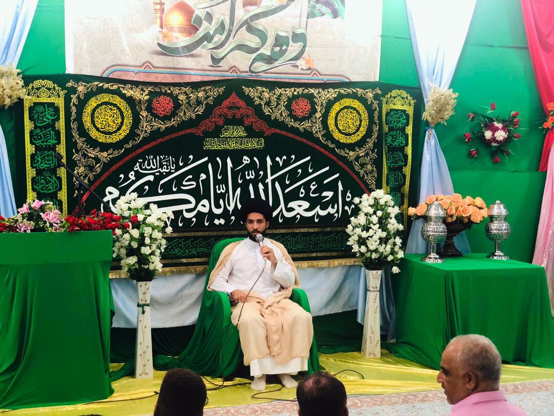 جشن میلاد امام مهربانی ها در قشم برگزار شد