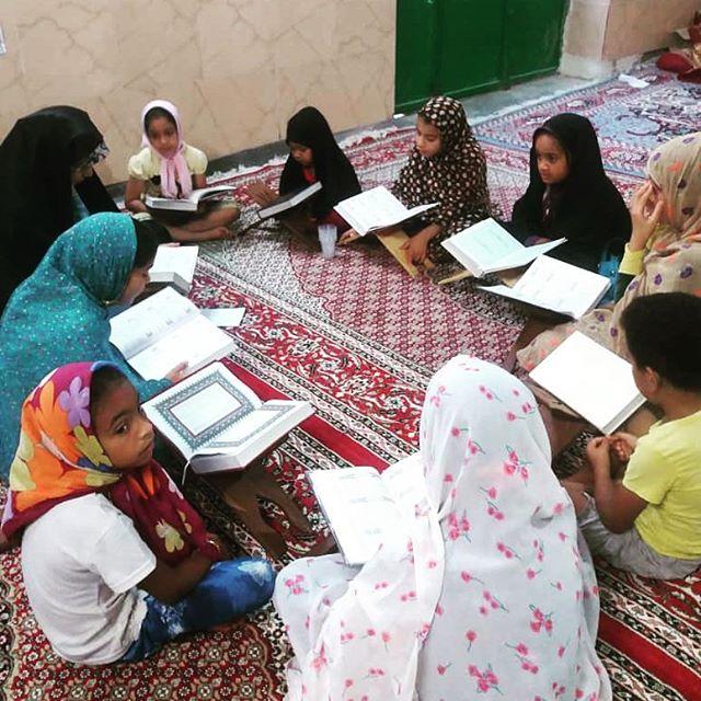 برگزاری کلاس آموزش روخوانی و روانخوانی و حفظ قرآن ویژه دختران