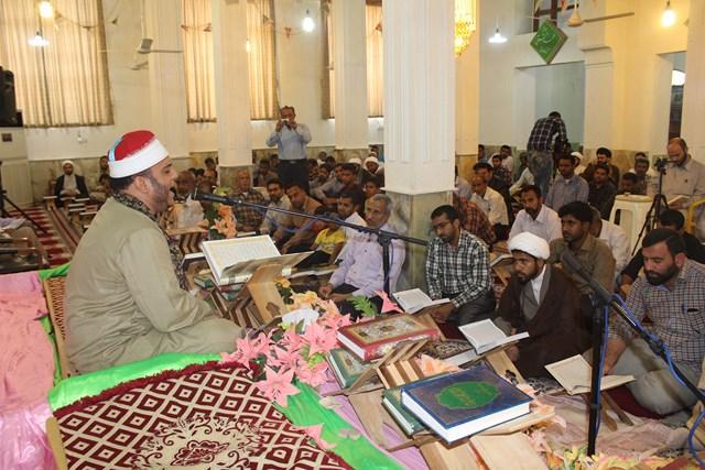 محفل انس با قرآن با حضور «عبدالرحمان فتحی» در قشم برگزار شد