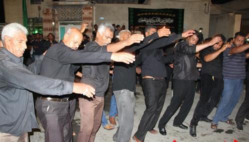 گزارش تصویری مراسمات عزاداری شهادت امام علی (ع) شهر قشم