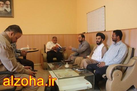 نشست فرهنگی قرآنی با حضور ریاست آموزش و پرورش شهرستان قشم