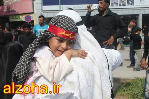 گزارش تصویری روز عاشورا در قشم