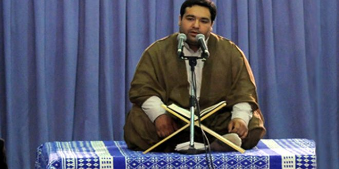 تلاوت «سیدمحمدجواد حسینی» در شهر حله