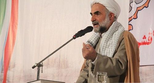 اولین یادواره شهدای مسجد صاحب الزمان (عج) شهر قشم برگزار شد