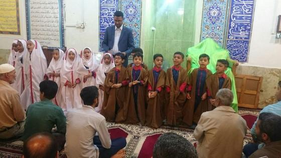 اجرای برنامه قرآنی توسط کودکان موسسه
