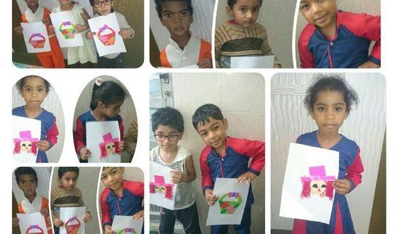 تصاویر جمعی از قرآن آموزان مهد مبین قشم