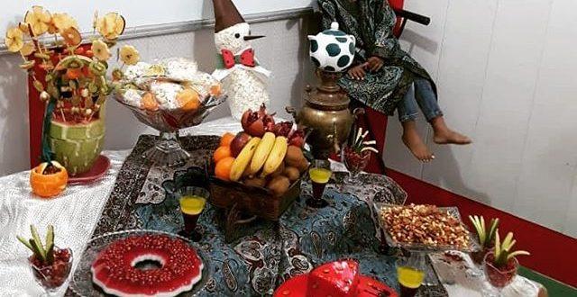 جشن یلدا در مهد مبین قشم برگزار شد