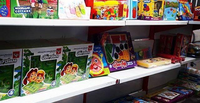 برگزاری نمایشگاه اسباب بازی های فکری در مهد مبین قشم
