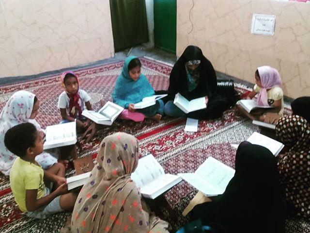 برگزاری کلاس آموزش روخوانی و روانخوانی قرآن ویژه دختران