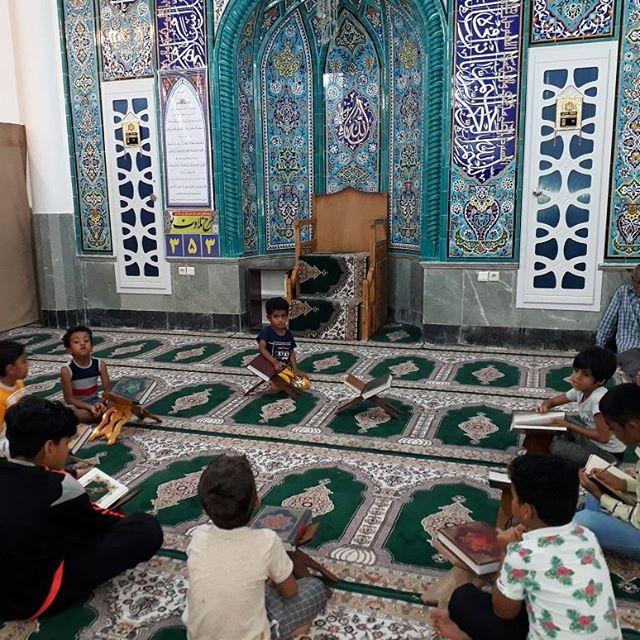 برگزاری کلاس آموزش روخوانی و روانخوانی قرآن در قشم