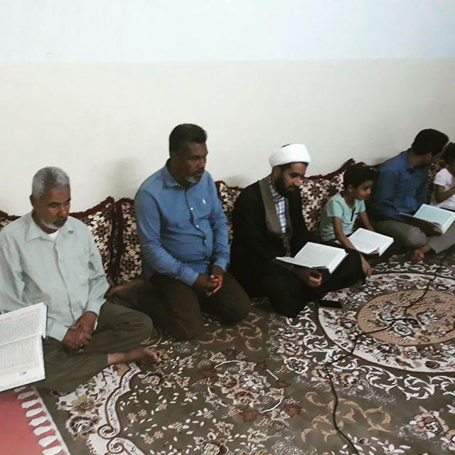 طرح دوشنبه های قرآنی در قشم