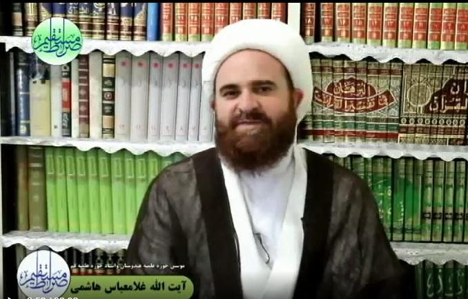 به مناسبت عید سعید غدیر خم با حضور آیت الله هاشمی+فیلم